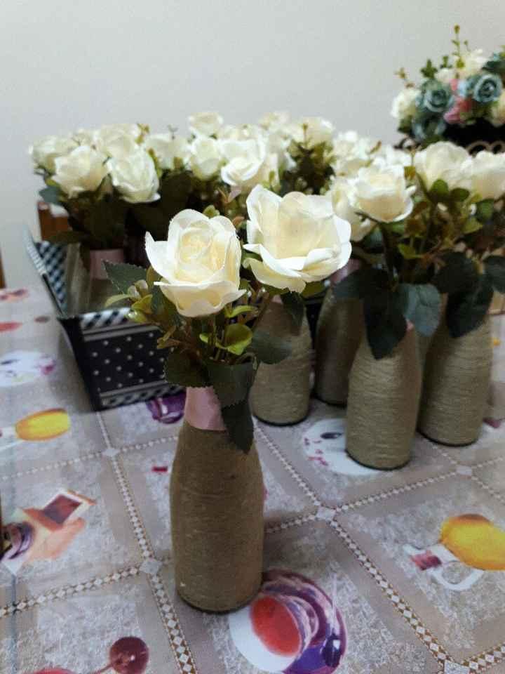 Centro de mesa noivado - 1