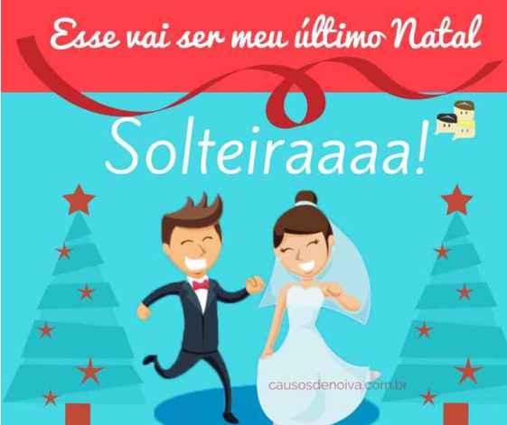 """úLtimo natal """"solteira"""" - 1"""