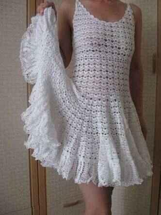 Vestidos de crochê !!! - 3