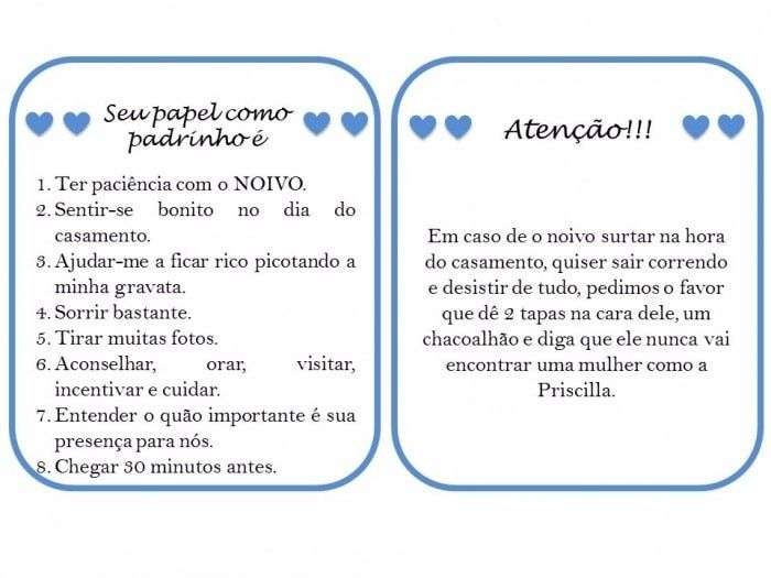 Mensagens Para Noivos No Dia Do Casamento: Manual Dos Padrinhos