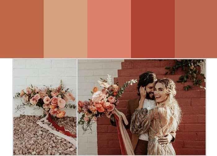 Como escolher a paleta de cores para o seu casamento - 1