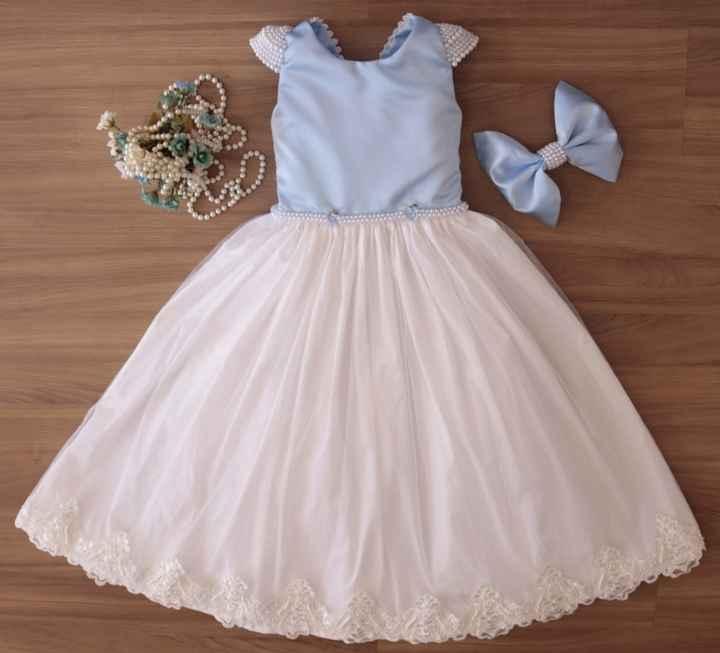 Vestidos para daminhas - 2