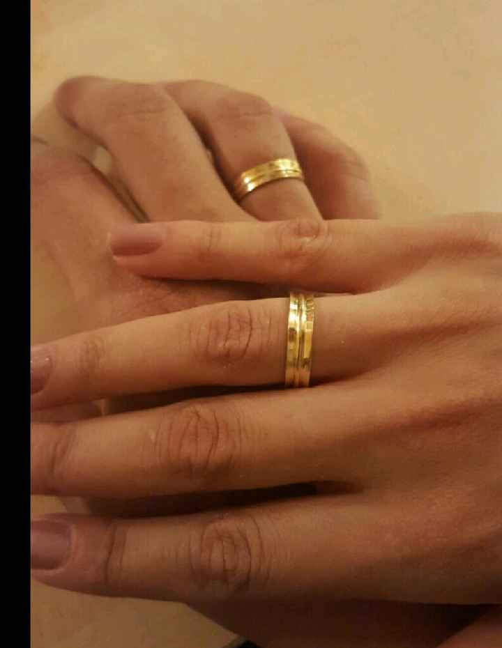 Aliança de casamento - 1