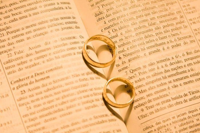 Casamento com Deus no lado