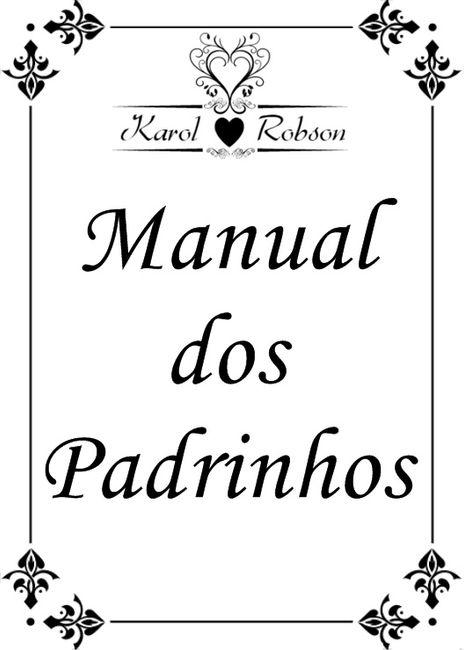 Manual dos Padrinhos