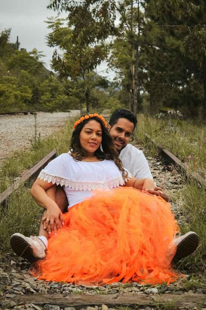 Pré wedding - linha abandonada do trem, Belvedere/bh - 8