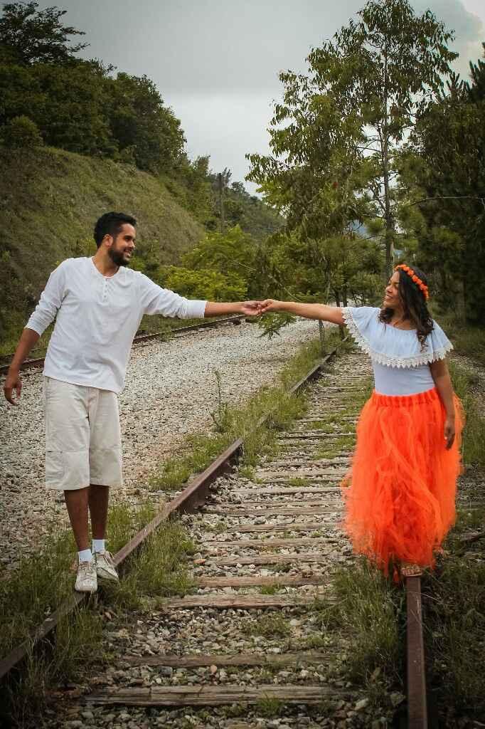 Pré wedding - linha abandonada do trem, Belvedere/bh - 9