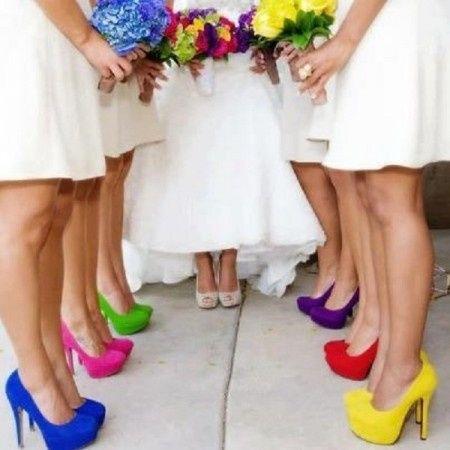 b81c0e0036 Sapato de noiva... Coloridos!  - 1