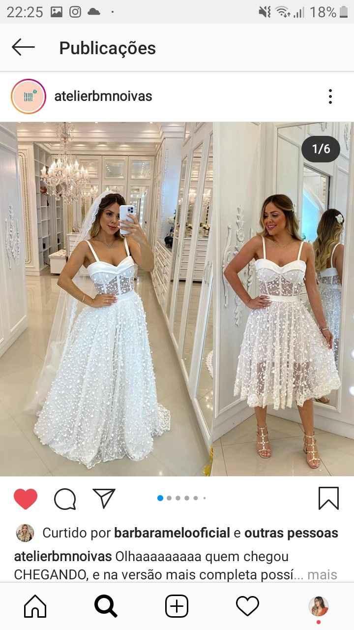 Vestido de noiva barato - 1