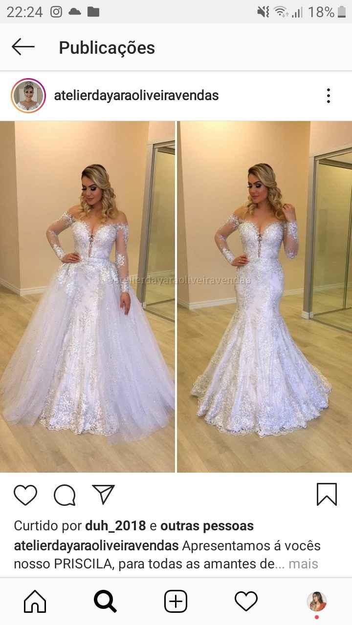 Vestido de noiva barato - 2