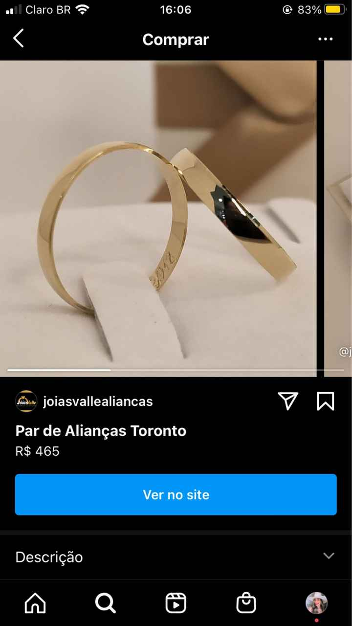 Aliança: ouro ou aço? - 1