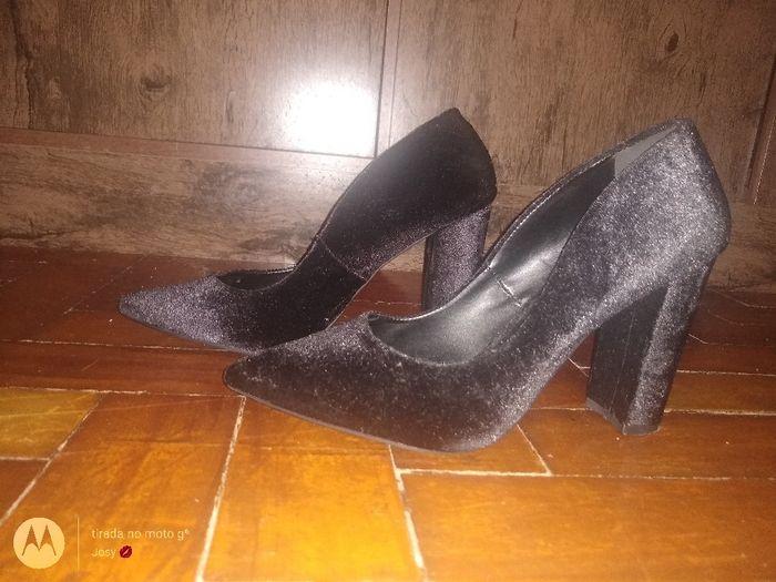 Buquê e sapatos da mesma cor! - 1