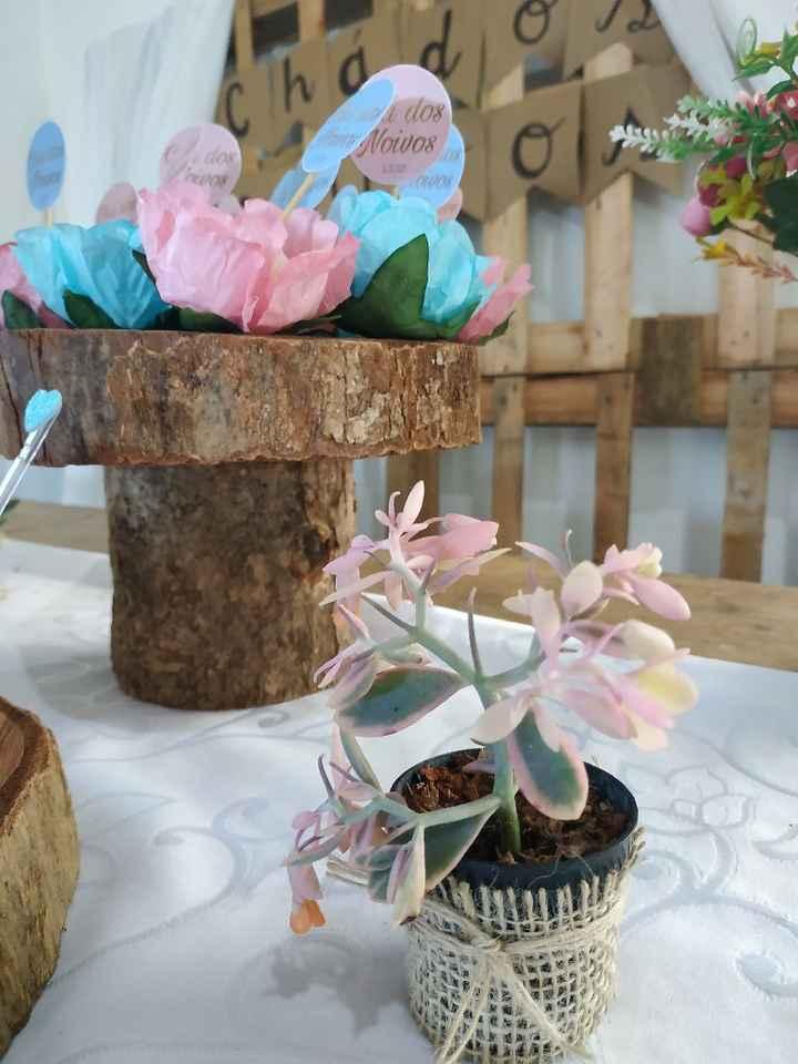 Chá dos noivos - decoração - 4