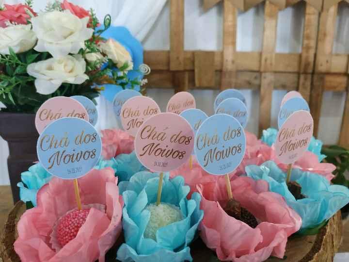 Chá dos noivos - decoração - 5