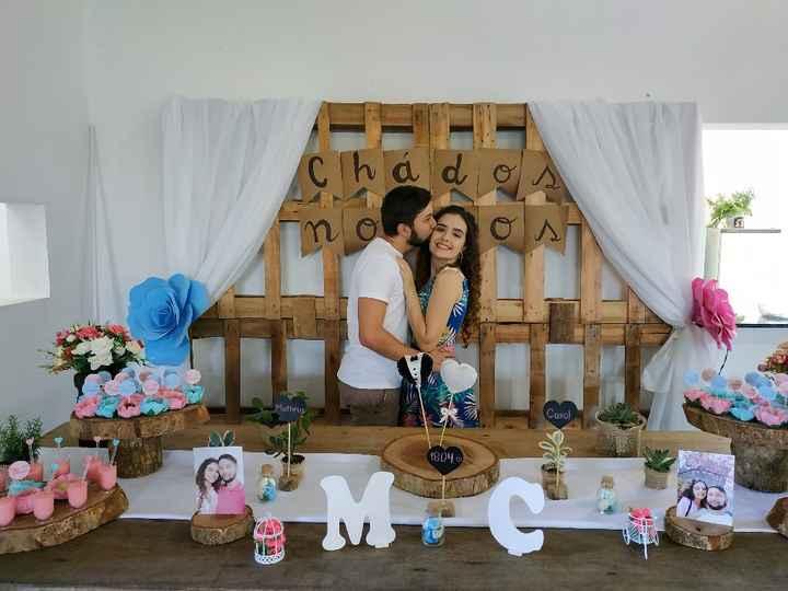 Chá dos noivos - decoração - 8