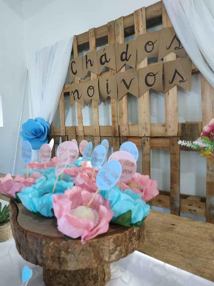 Chá dos noivos - decoração - 9