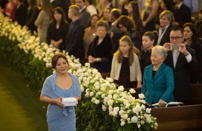 Aliança na cerimônia 4