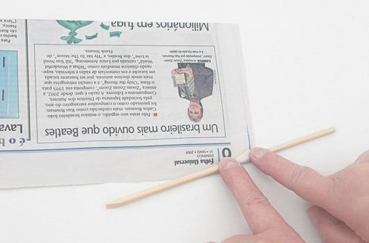 Diy - sousplat dde jornal 2