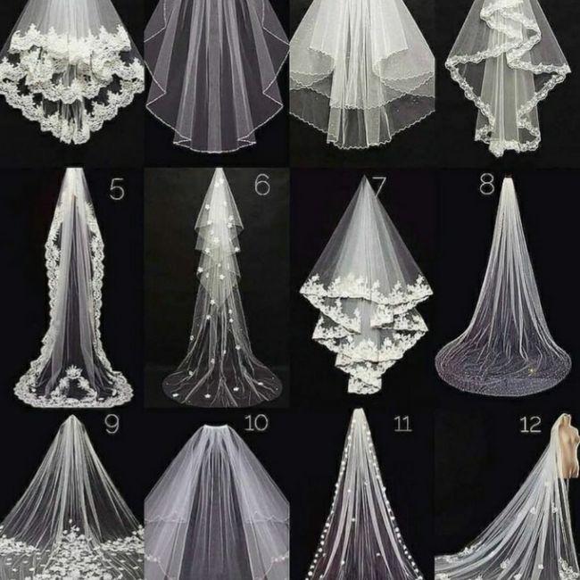 Qual seu Véu .....preferido????? - 1