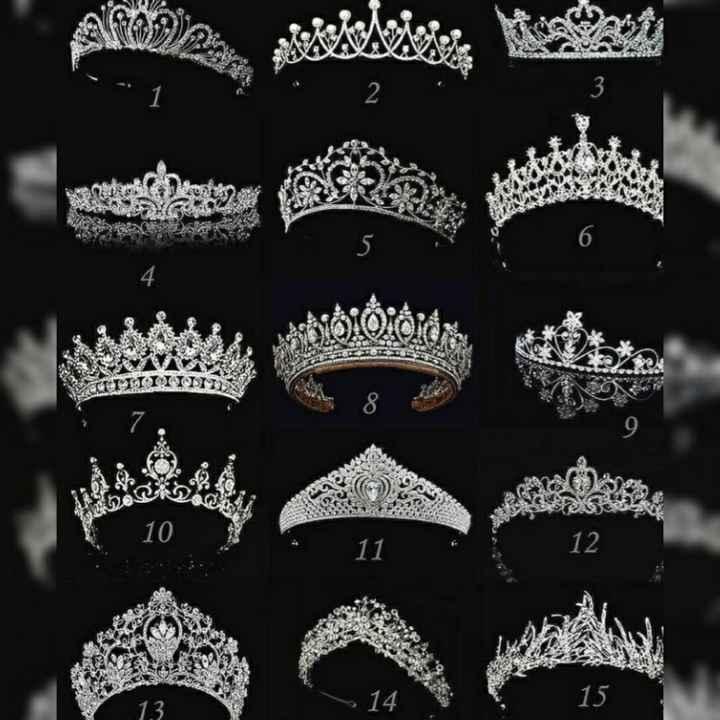 Toda Noivinha merece uma Bela Coroa... Qual é a sua ??? - 1