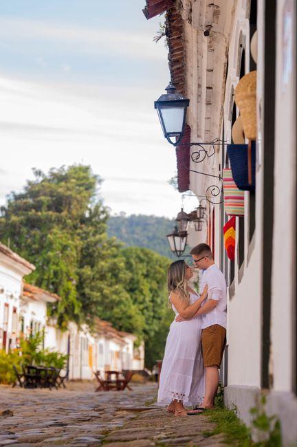 Nosso pré wedding em Trindade - Paraty 3