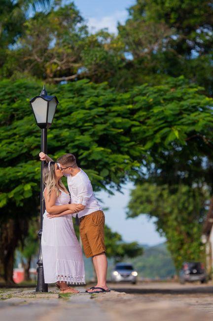 Nosso pré wedding em Trindade - Paraty 7