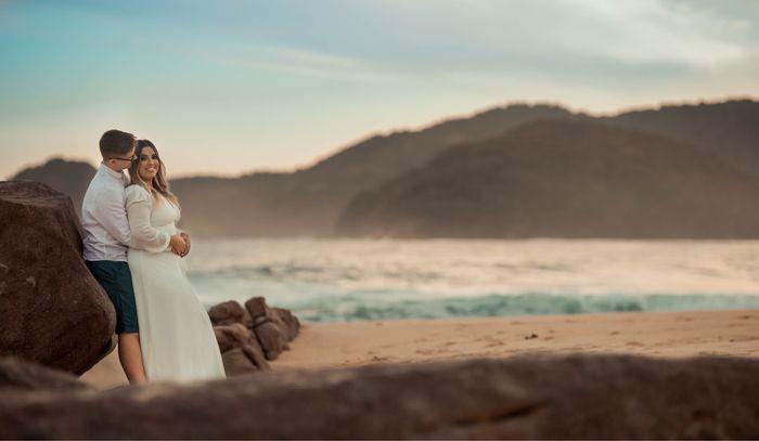 Nosso pré wedding em Trindade - Paraty 8