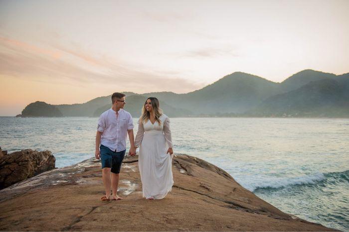 Nosso pré wedding em Trindade - Paraty 14