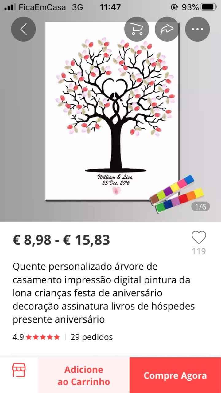 Árvore de digitais 🌳❤💚💙 - 1