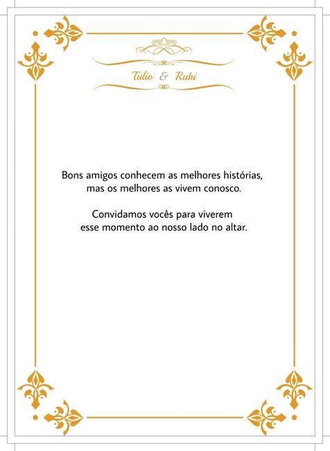Kit Padrinhos Arte Do Convite Manual Dos Padrinhos