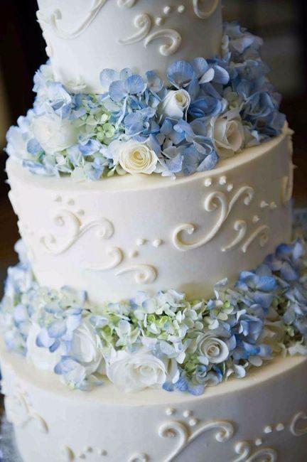 Decoraç u00e3o de casamento na cor azul -> Enfeites De Mesa Para Casamento Azul E Branco