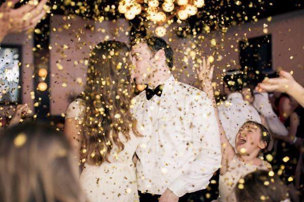 Inspiracao Ideias Para Um Casamento Dourado
