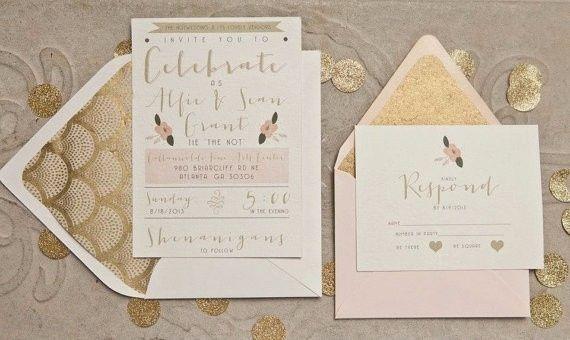 A papelaria e o convite