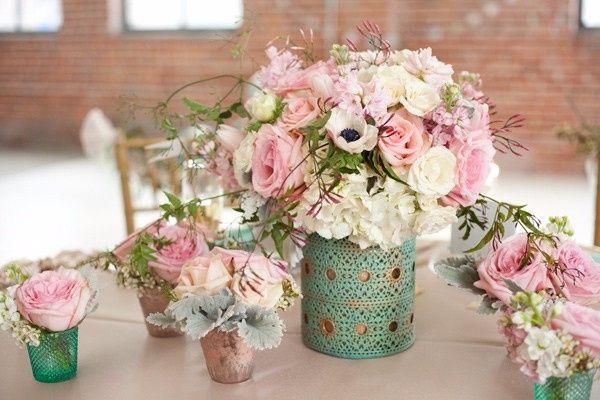 Os arranjos florais