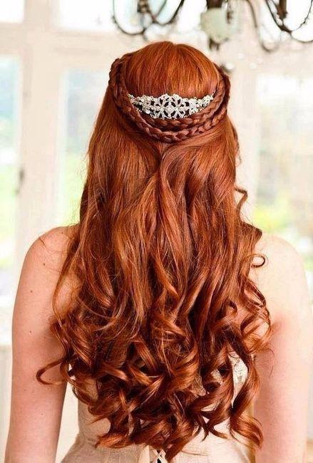 Peinado de princesa sirenita