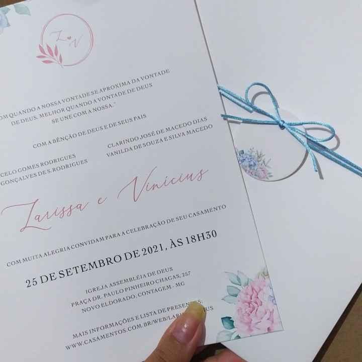 Os convites chegaram 😍😍😍 - 1