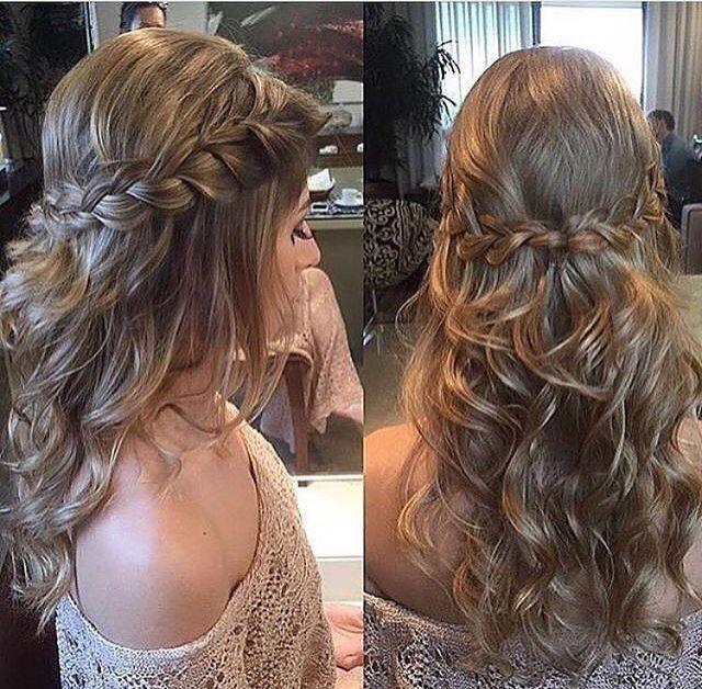 Penteados para noivas - 1