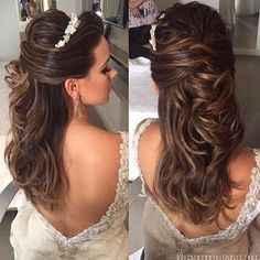 Penteados para noivas - 5