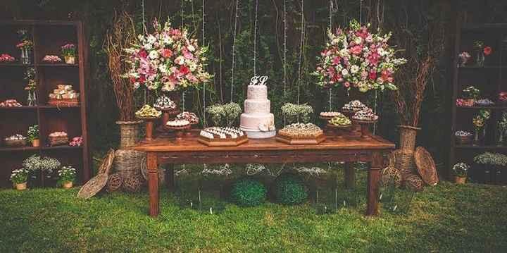 Como foi/será sua mesa do bolo? - 2