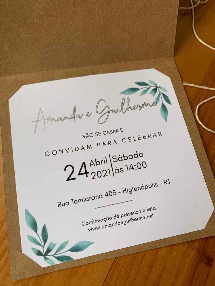 Meu convite de casamento diy 😍 #vemver - 2