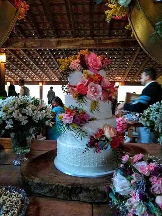 Minha mesa de bolo - 2