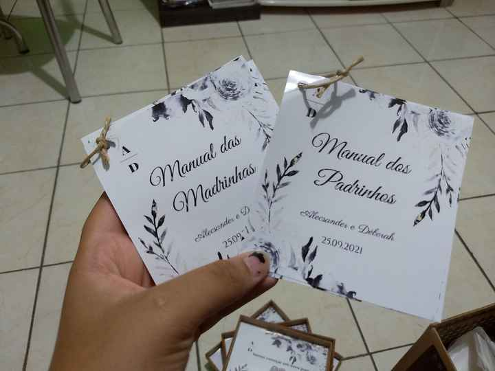 #Diy - Convite Padrinhos - 2