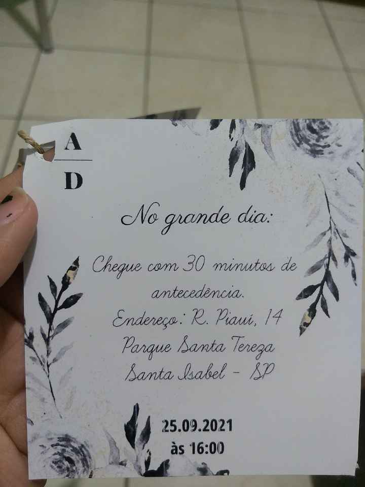 #Diy - Convite Padrinhos - 5
