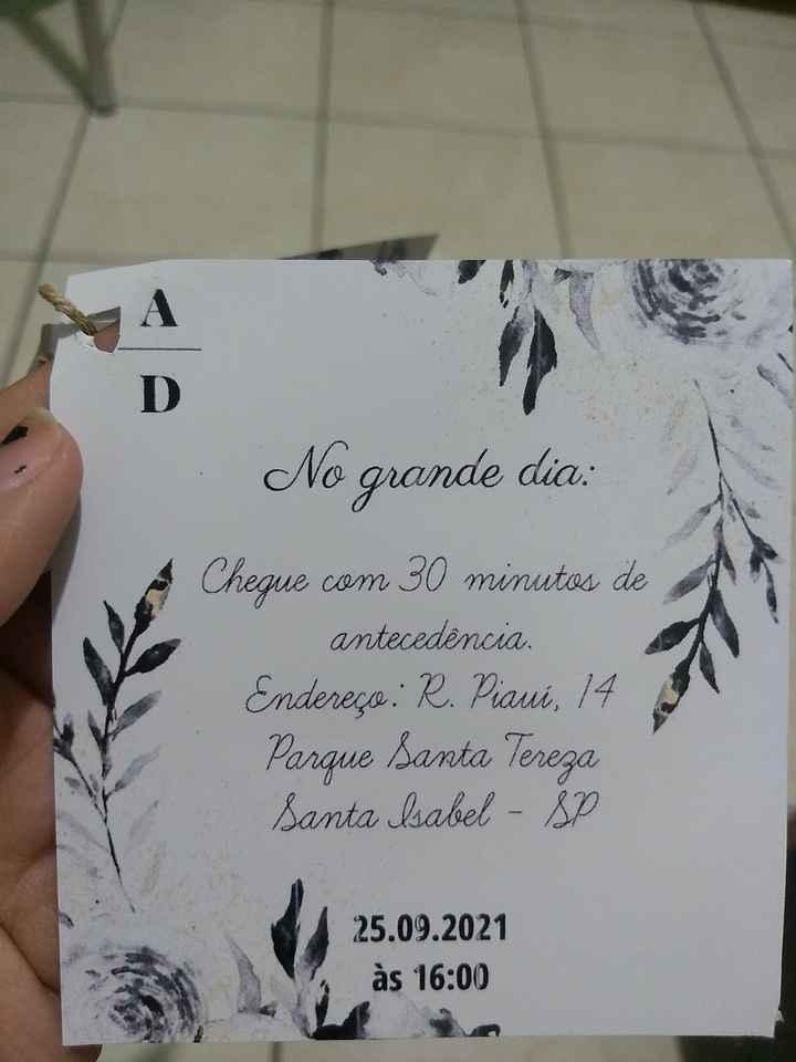 #Diy - Convite Padrinhos - 8