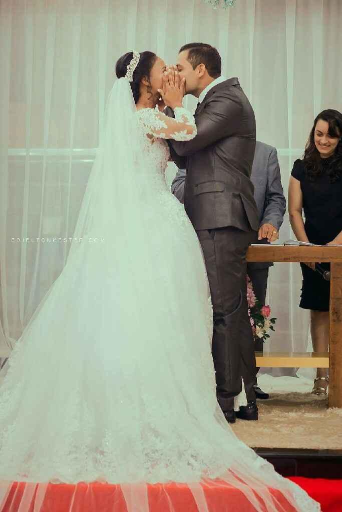 Casamentos reais 2017: o beijo de casados - 1