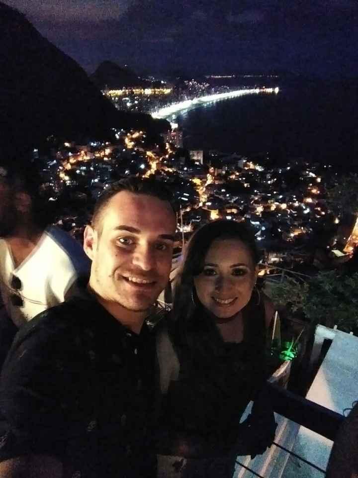Morro do Vidigal (Vista do Bar da Laje)