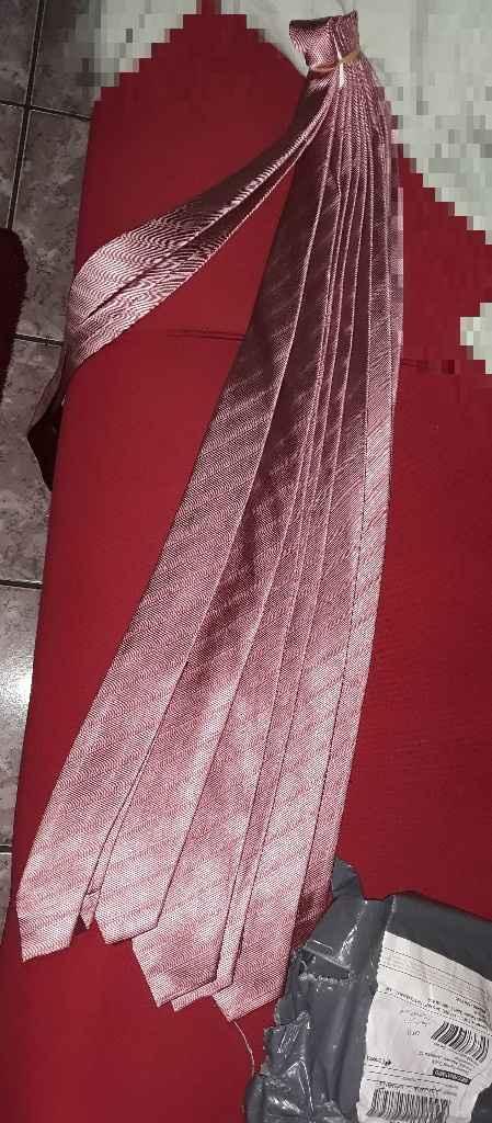 Gravata rosê - 1
