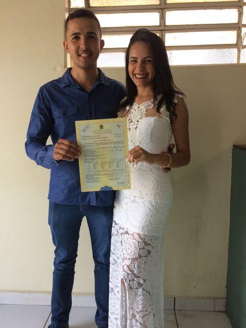 Casei! Casamento Civil! 08/11/2019 1