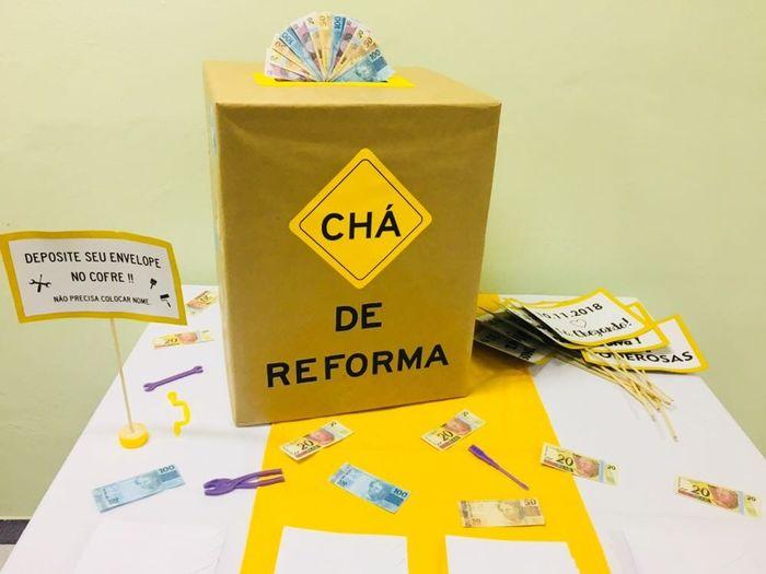 Chá de reforma! #vemver 9
