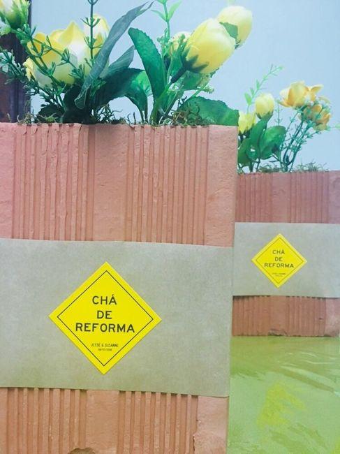Chá de reforma! #vemver 12